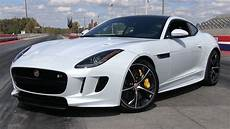2016 Jaguar F Type R Awd Coupe Start Up Road Test And In