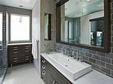 bathroom colors with grey tile choosing a bathroom backsplash hgtv