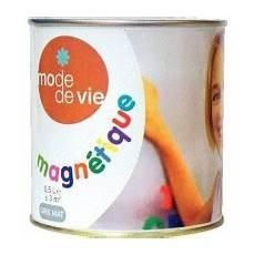 peinture magnétique blanche peinture magn 233 tique 0 5l peinture 224 effets d 233 coratifs