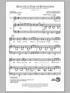 beautiful star of bethlehem sheet music direct