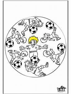 mandala voetbal 3 kindermandala s