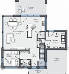 einfamilienhaus passivhaus wahrt einfamilienhaus grundriss erdgeschoss mit carport