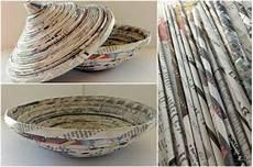 Basteln Mit Zeitungspapier Kreative Ideen Und Anregungen