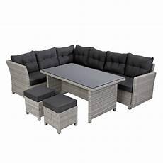 gartenm 246 bel lounge set mit esstisch test gartenbau