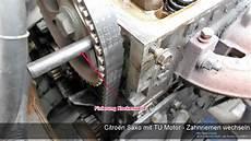 citro 235 n saxo mit tu motor zahnriemen wechseln b 246 se x