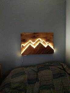 light wood wall art lighted mountains wall art contact me for details on how to make or if you would like one made