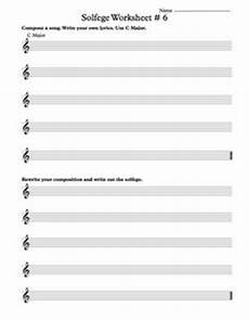 free solfege worksheets for classroom instruction music