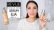 revue test fond de teint serum ilia peau grasse mixte