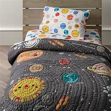 deep space toddler bedding crate and barrel