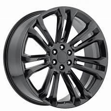 24 quot 2015 gmc wheels gloss black oem replica rims oem061 2