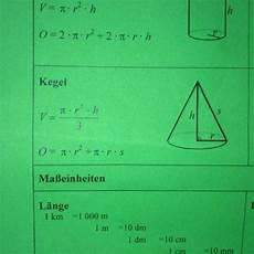 wie berechnet den oberfl 228 cheninhalt kegel wenn