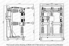 Wiring Diagram Of Vcb by Zn39 40 5c Indoor High Voltage Vacuum Circuit Breaker