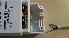 Stecker An Trafo L Und N Egal Technik Strom Elektrik