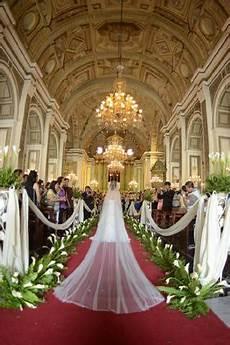 viena justine san augustine church philippines church wedding decorations wedding