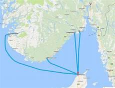 Nach Norwegen Mit Dem Auto Reisen Routen Karten Und