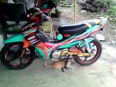 Variasi Skotlet Motor Jupiter Z by Modifikasi Jupiter Z 2007 2008 Stiker Custom
