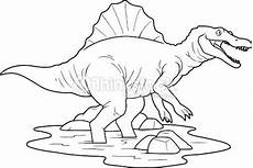 picture which depicts spinosaurus espinosaurio libro de