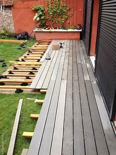 Pose D Une Terrasse En Bois Composite Silvadec Gris