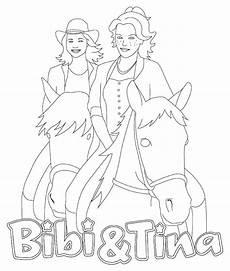 Kostenlose Malvorlagen Bibi Und Tina Ausmalbilder Bibi Und Blocksberg Tina Ausmalbilder