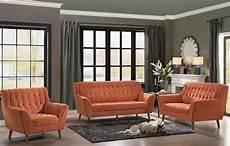 erath orange living room from homelegance coleman furniture