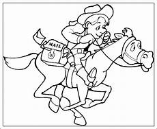 ausmalbilder zum ausdrucken ausmalbilder cowboy zum