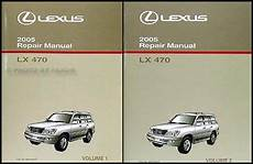 book repair manual 2010 lexus is auto manual 2005 lexus lx 470 shop manual set original oem lx470 repair service books ebay