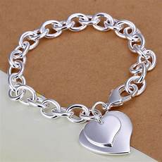 2016 New Silver Plated Jewelry Shape Bracelets For