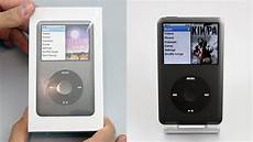 apple ipod classic 160gb black unboxing overview