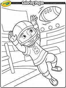 free printable sports coloring pages 17776 football wide receiver on crayola football coloring pages sports coloring pages