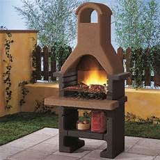 palazzetti in giardino barbecue in cemento pantelleria bricofer