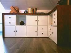 How I Customized A Free Ikea Kallax Into Office Storage