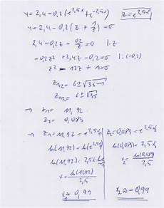 nullstelle exponentialfunktion mathelounge