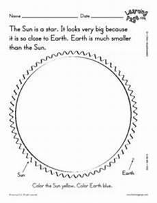 facts about the sun worksheet sun facts 3 worksheet for kindergarten 1st grade