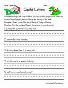 capitalizing places worksheets 15962 7 best capitalization images on preschool kindergarten and alphabet activities