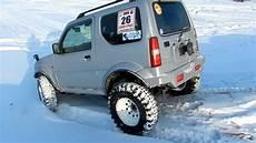 Suzuki Jimny 31 Simex Offroad Snow Test