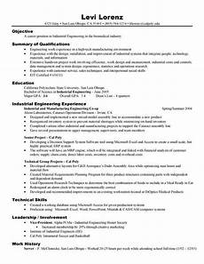 sle resume for electronics engineering student