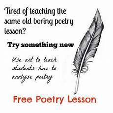 introduction to poetry worksheets middle school 25328 introduction to poetry free lesson by teaching made easy123 tpt