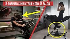 Leangp Le Premier Simulateur Moto De Salon Pour Ps4 Xbox