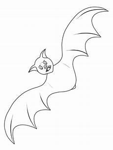 Fledermaus Ausmalbild Gratis Kostenlose Malvorlage Fledermaus Ausmalen Zum