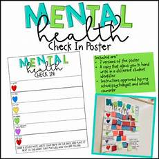 worksheets on greetings 18411 mental health check in poster by a statement in sped tpt