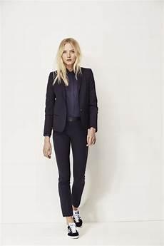mode femme i code veste tailleur et pantalon noir looks