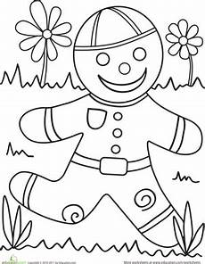 color the gingerbread gingerbread kindergarten gingerbread crafts gingerbread