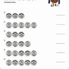 money worksheets pennies and nickels 2289 free math worksheets for counting pennies