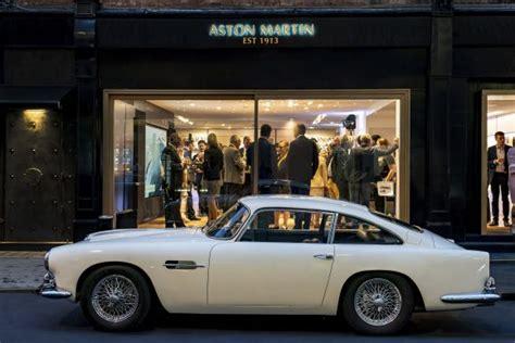 Aston Martin Works Opens Heritage Showroom In Mayfair