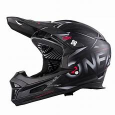 oneal fury synthy downhill helm mit two x race brille