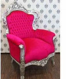 sessel pink casa padrino barock sessel quot king quot pink silber sessel