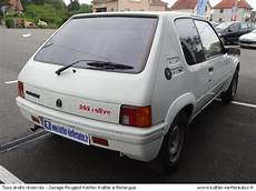205 rallye occasion peugeot 205 rallye suisse 1 9l 105cv 1989 occasion auto peugeot 205