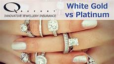 white gold platinum engagement rings made simple youtube