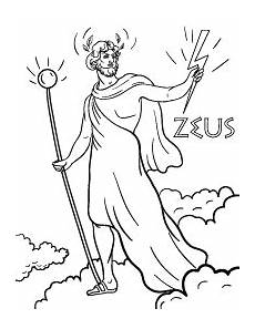 Malvorlagen Easy Zeus Coloring Page Coloring Pages Free Coloring Pages
