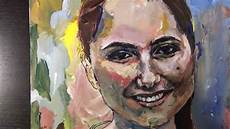 painting a portrait with acrylic paint by gordon b speed
